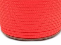 0060 pink coral, 100m Polyester Cord Pes Ø4mm Cords And Strings Haberdashery