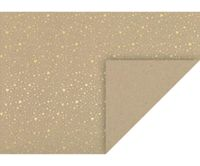 10 Pieces Of Cardboard 50x70 220 Grams, Natural, Golden Heart, Cartons For Your Own Creativity, Art Supplies, Heyd