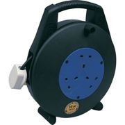 10M Light Duty Cable Reel 10Amp 3 Outlets