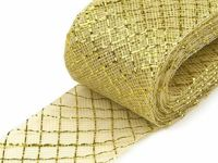 11 gold, 28m Diamond Crinoline Horsehair Braid Width 4cm (soft) And French Veils Milliner Necessities Haberdashery