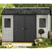 11' x 7' Keter Oakland Plastic Garden Shed (3.5 x 2.29m)