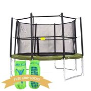 12ft Super Tramp Fun Bouncer Trampoline with Enclosure - With FREE Ladder