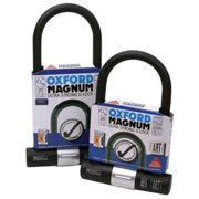 (170 MM X 315 MM, One Colour) Oxford Magnum U-Lock With Bracket