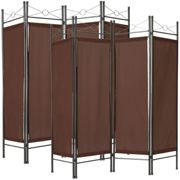 2 room dividers paravent - brown