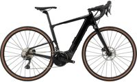 2021 Cannondale Topstone Neo Carbon 2 Gravel bike in Black Pearl Small