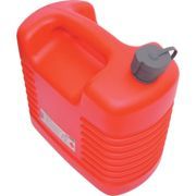20LTR Plastic Jerry Can with Internal Spout Red