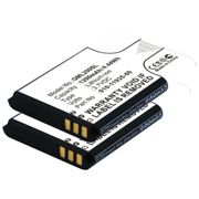 2x Battery for Garmin 010-02184-01 - 1200mAh | Replacement Battery | Spare Battery