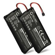 2x Battery Nintendo Joy-Con (L) HAC-015 - 450mAh