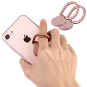 2x Huawei Honor 8x Max Finger-grip holder Pink Plastic