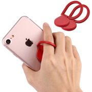 2x Huawei Honor 8x Max Finger-grip holder Red Plastic