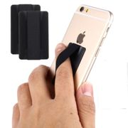 2x Samsung GT-N7100 Galaxy Note 2 Finger-grip holder Cover Backcover Black Plastic