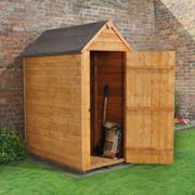 3'x5' Forest Overlap Apex Dip Treated Shed No Windows