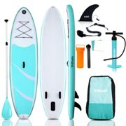 3M 10ft Inflatable Stand Up Paddle SUP Board Surf Lightweight Package Kit