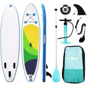 3M Inflatable Stand Up Paddle Board SUP Board Surfboard EVA Deck Package