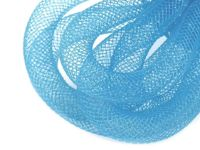 4 baby blue, 25m Crinoline Mesh Tubing Plastic Net Thread Cord Ø10mm And Other Tubes Milliner Necessities Haberdashery