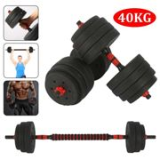 40kg Dumbbells Pair of Gym Weight Barbell/Dumbell Set