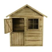 4x4 Forest Charlie Traditional Kids Playhouse With Stable Door