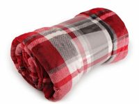 5 red, 1pc Flannel Fleece Blanket 150x200cm Baby Blankets Home Furnishing And Accessories Decorations