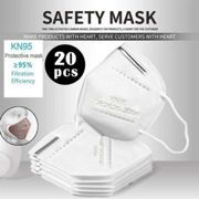 (50 PCS) N95 FFP2 Disposable Protective Face Mask