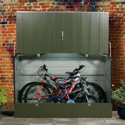 6x3 Trimetals Green 'Protect.a.Cycle' Secure Garden Storage