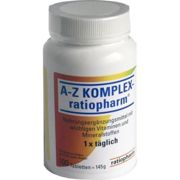 A-Z Komplex-ratiopharm tablets 100 units