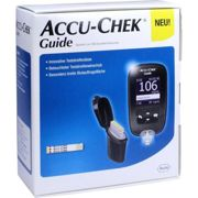 ACCU CHEK Guide Blutzuckermessgert Set mg/dl 1 units