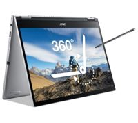 """ACER Spin 3 13.3"""" 2 in 1 Laptop - Intel®Core i7, 512 GB SSD, Silver, Silver"""