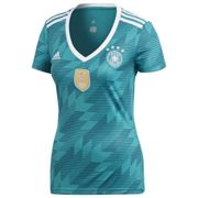 Adidas Germany Away 2018 XS Eqt Green / White / Real Teal