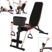 Adjustable Weight Bench Barbell