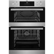 AEG, DEB331010M, Built In Double Oven in Stainless Steel