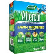 Aftercut Lawn Thickener Feed and Seed, 150 m2, 5.25 kg, Green