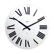 Alessi - Firenze Wall Clock - white/Ø 36 cm