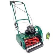 "Allett Liberty 35 14"" Cordless Self Propelled Mower with 40v 4ah Battery & Charger"
