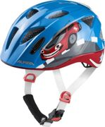 Alpina Kids Ximo Flash Red Car, Size 45 - 49 cm - Kids Cycling Helmet, Color Red