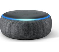 Amazon Echo Dot (2018) - Charcoal, Charcoal Charcoal