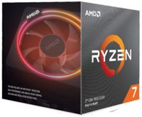 AMD CPU Ryzen 7 3800X 8/16 Cores/Threads 105W AM4 Socket 36MB cache 4500Mhz Boost Freq. BOX with Wraith Prism cooler