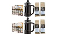 Anielas Gourmet Coffee Set: With Two Packs of Coffee