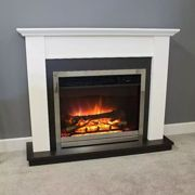 Antigua Electric Fire Suite by Suncrest