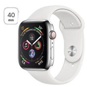 Apple Watch Series 4 LTE MTVJ2FD/A - Stainless Steel, Sport Band, 40mm, 16GB - Silver