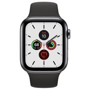 Apple Watch Series 5 LTE MWWK2FD/A - Stainless Steel, Sport Band, 44mm - Space Black
