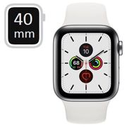 Apple Watch Series 5 LTE MWX42FD/A - Stainless Steel, Sport Band, 40mm - Silver