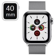 Apple Watch Series 5 LTE MWX52FD/A - Stainless Steel, Milanese Loop, 40mm - Silver