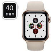 Apple Watch Series 5 LTE MWX62FD/A - Stainless Steel, Sport Band, 40mm - Gold