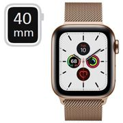 Apple Watch Series 5 LTE MWX72FD/A - Stainless Steel, Milanese Loop, 40mm - Gold