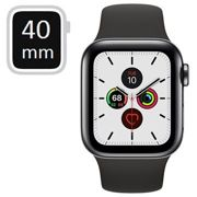 Apple Watch Series 5 LTE MWX82FD/A - Stainless Steel, Sport Band, 40mm - Space Black