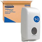 AQUARIUS Toilet Paper Dispenser 6946 Plastic White