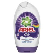 Ariel Washing Gel Colour and Style, Cleans Brilliantly Even in Cold Wash, 888 ml, 24 Washes
