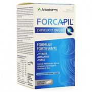 Arkopharma Forcapil 3 Month Hair and Nails Treatment 180 Capsules