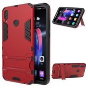 Armor Series Huawei Honor 8X Hybrid Case with Stand - Red