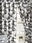 """Army Camouflage Lined Curtains Grey Width 66"""" x Drop 54"""""""